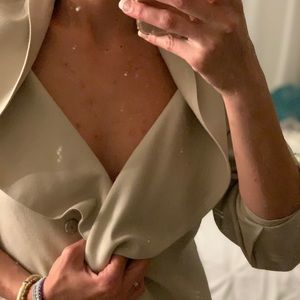 Zara Women Asymmetric Blazer